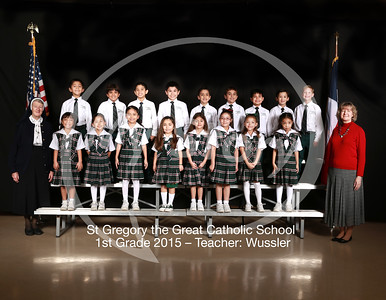 St Gregory Class Pictures 2014-2015