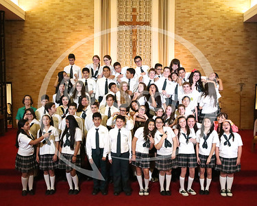 St Gregory 2014 8th Grade Graduating Class