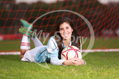Antonian Girl's Soccer 2014 Portraits