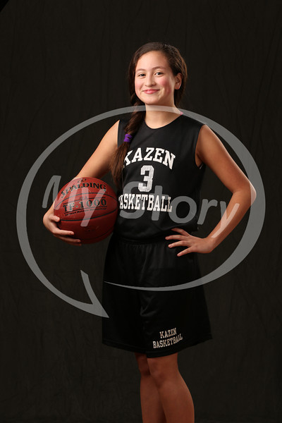 Kazen Middle School Girl Basketball 2013-14