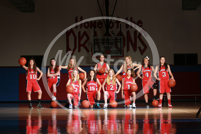 St George 8th Grade Girls Basketball