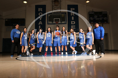 St Paul Girls Basketball 2013-14