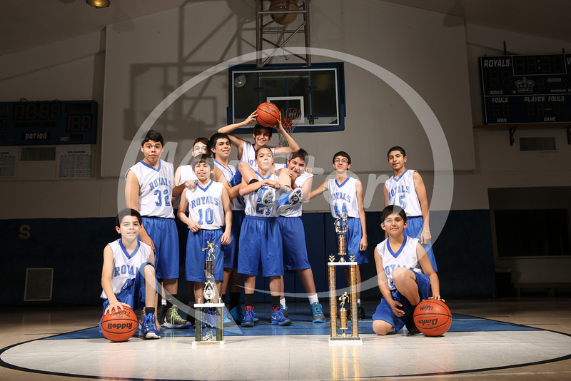 St Paul Royals 2013 Basketball