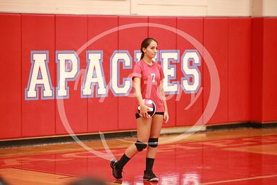 Antonian 2015 Freshman Volleyball