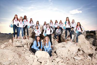 Antonian 2015-16 Volleyball Varsity Portraits