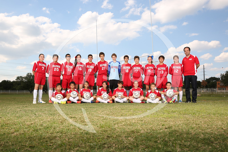 Antonian Middle Sch Soccer 2014