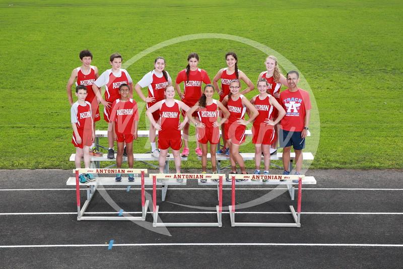 Antonian Middle School Track 2015