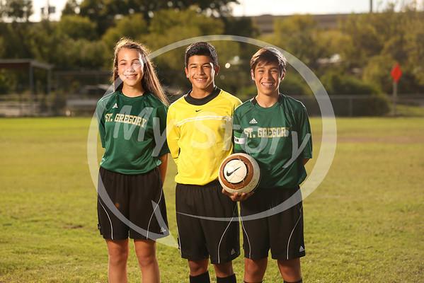 St Gregory Soccer Portraits 2013