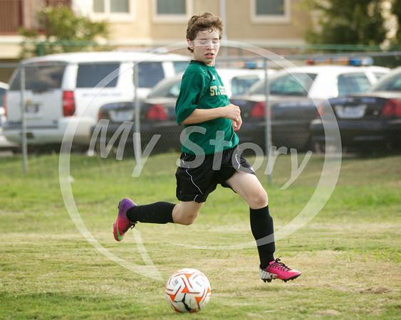 St Gregory Soccer vs St Monica