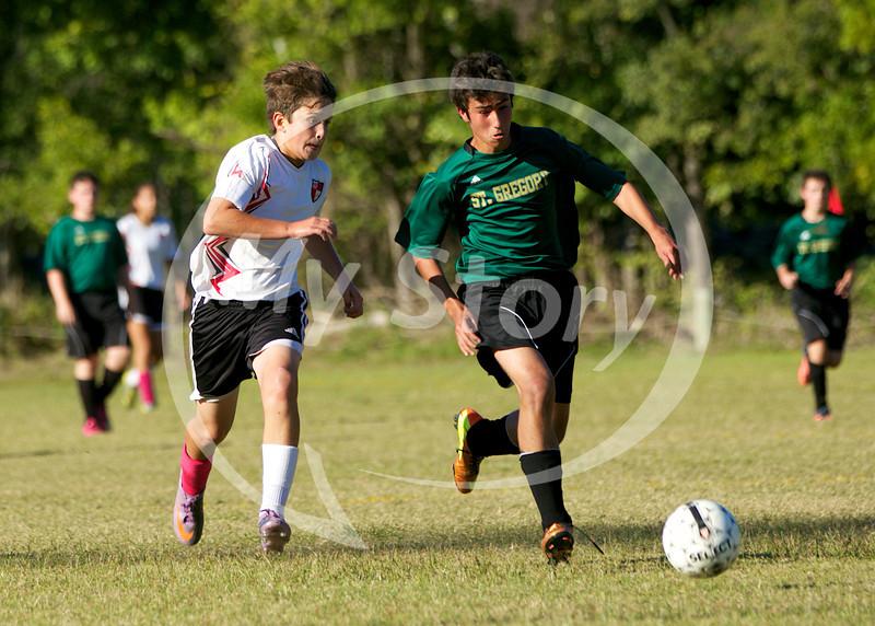St Gregory Soccer vs St Matthews